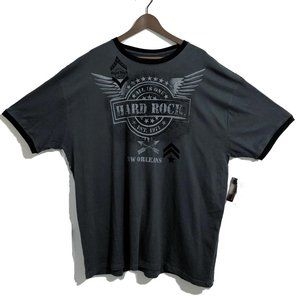 Hard Rock Cafe New Orleans Military Ringer Tee 2XL